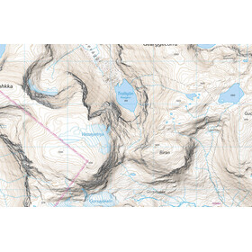 Calazo Abisko Björkliden – Riksgränsen Map 1:25.000